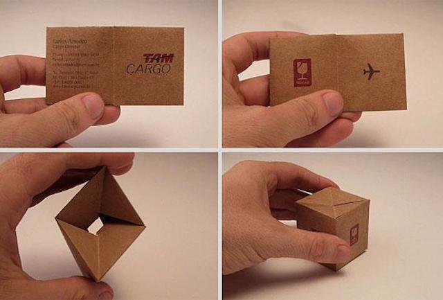 Cartão da TAM Cargo