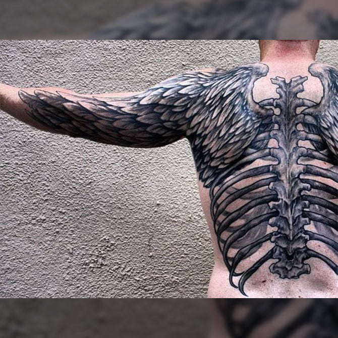 Tattoo 3D Asas