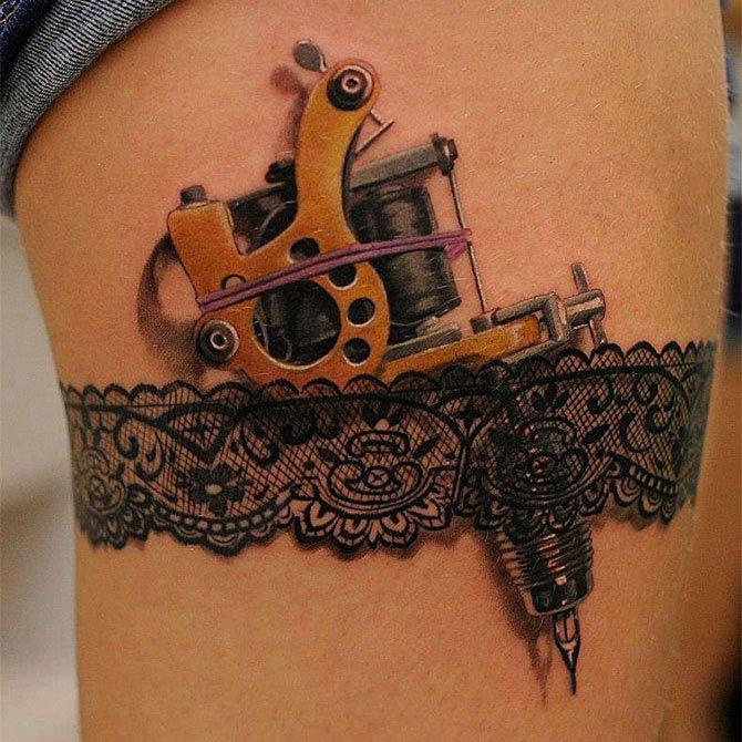 Tattoo 3D Maquina de Tatuagem