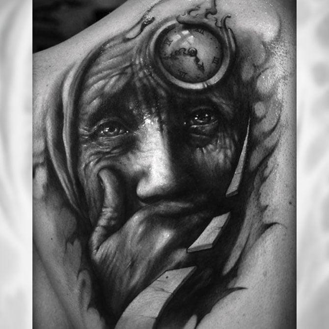 Tattoo 3D Tempo Velho