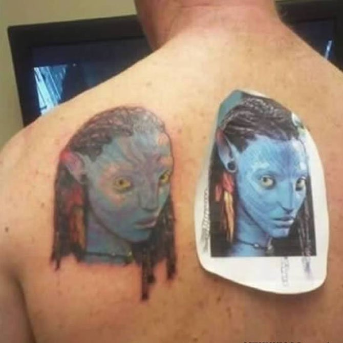 Tattoo Fail Avatar