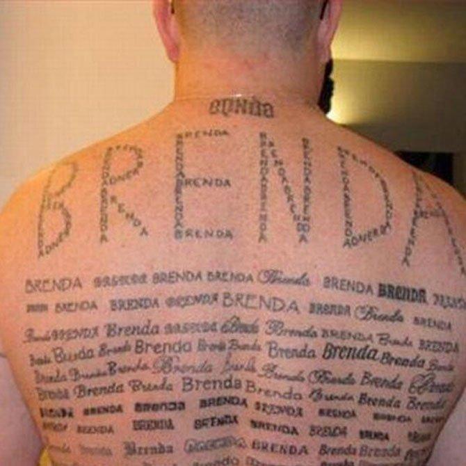 Tattoo Fail Brenda