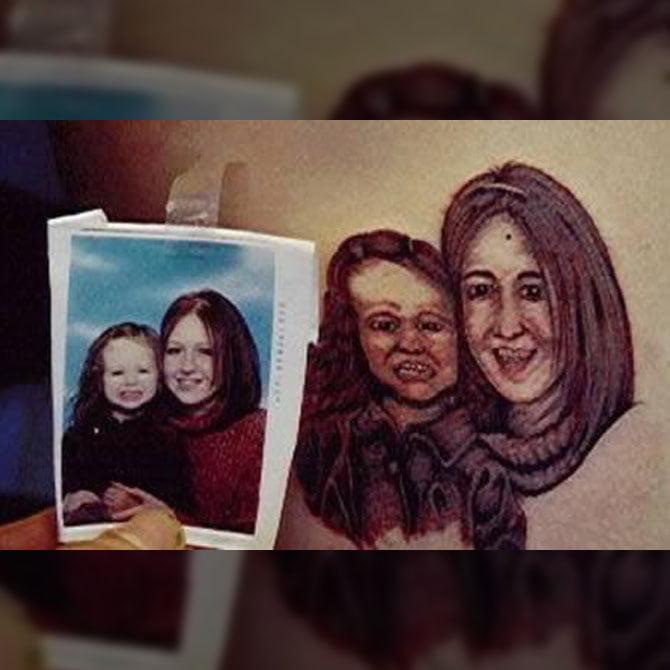 Tattoo Fail Foto de Família