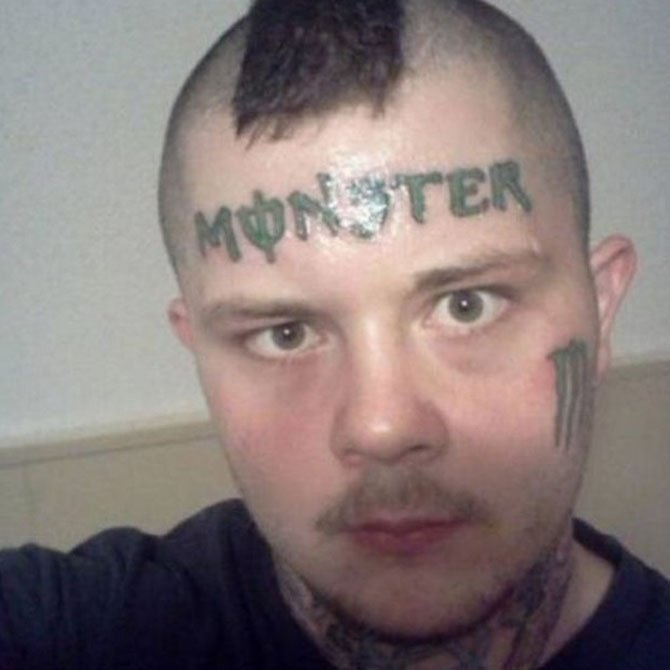 Tattoo Fail Monster