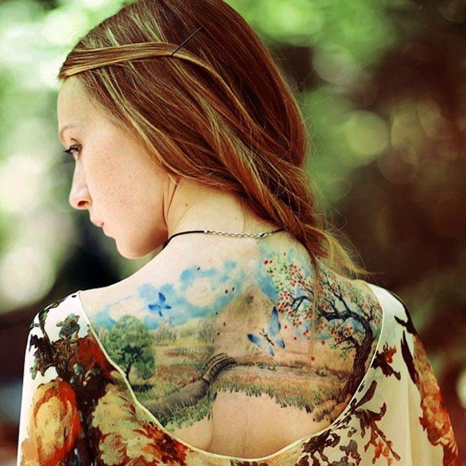 tattoo-feminina-paisagem