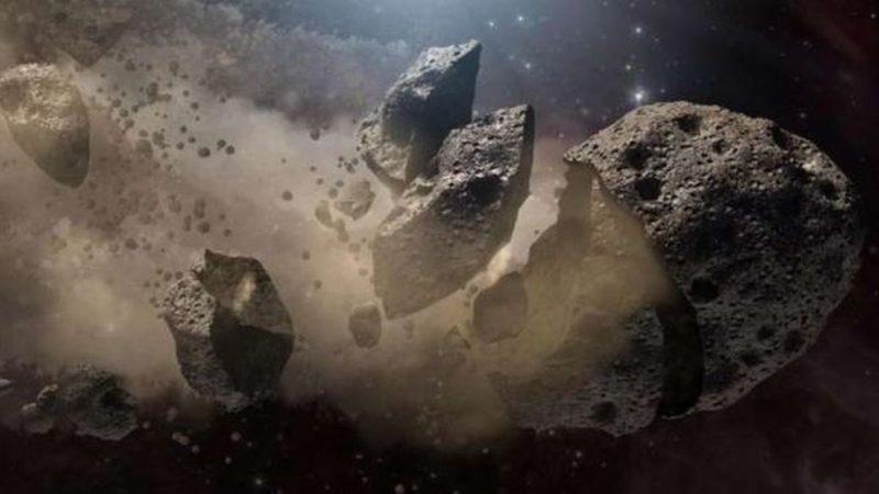 Asteroide vai passar na terra