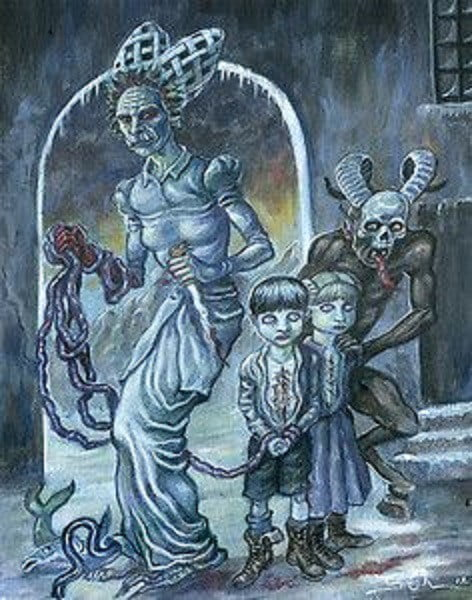 Criaturas bizarras do Natal