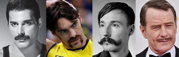 Tipos de barba bigodes