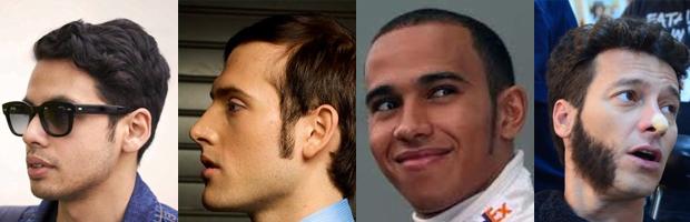Tipos de barba costeletas
