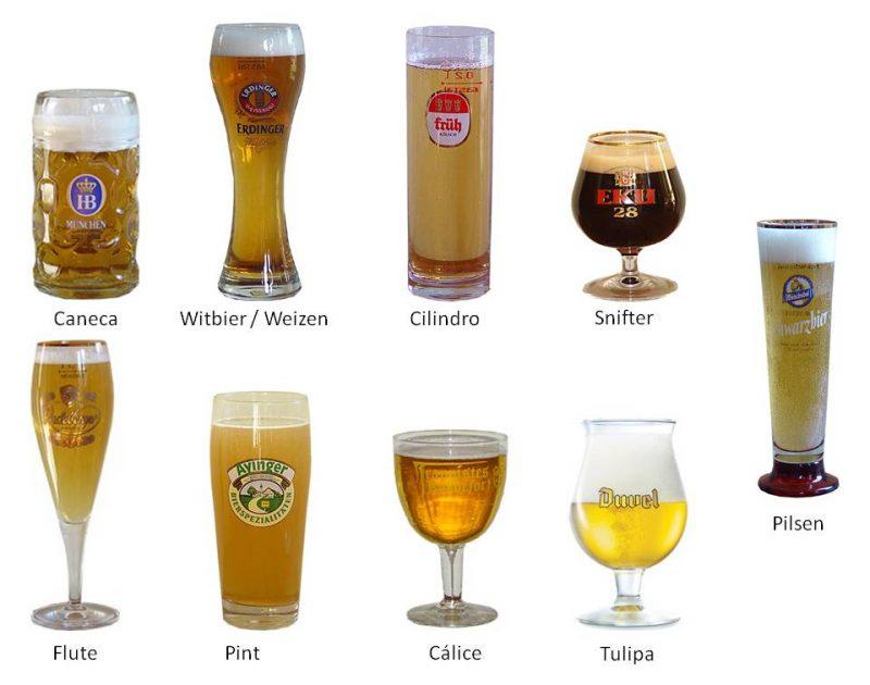 Tudo sobre cerveja-copos