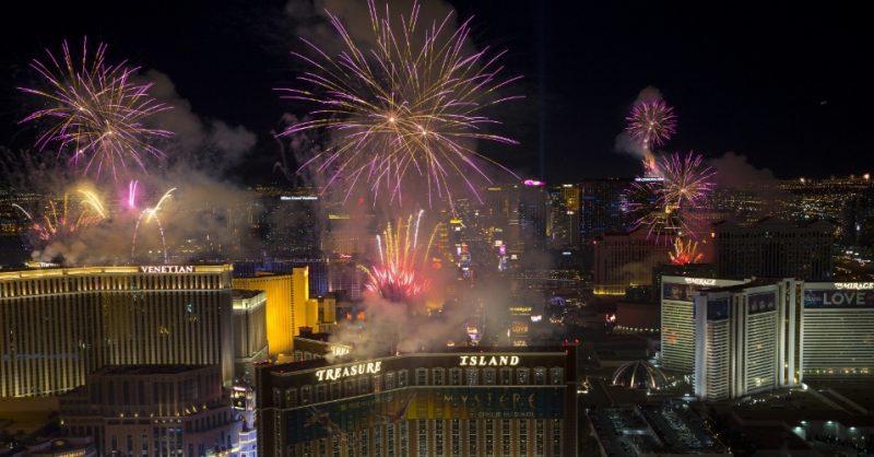 Réveillon 2018 em Las Vegas, nos EUA