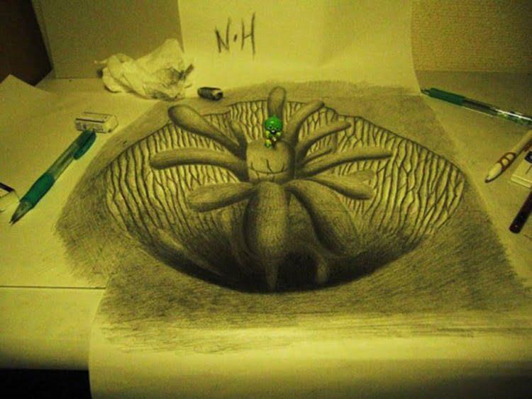 Ilustrações em 3D
