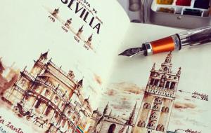 Cutedrop » Os incríveis sketchbooks de um engenheiro que resolveu se dedicar somente à arte
