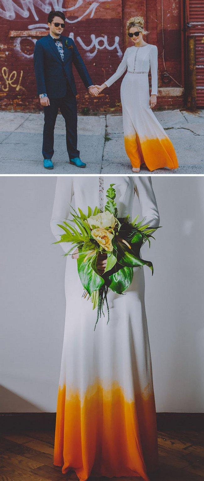 vestidos de noivas coloridos 8