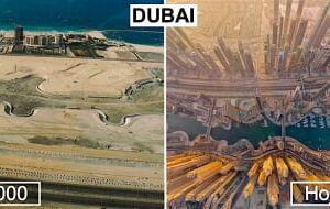 20+ Imagens impressionantes mostrando a transformação absurda de 15 cidades do mundo
