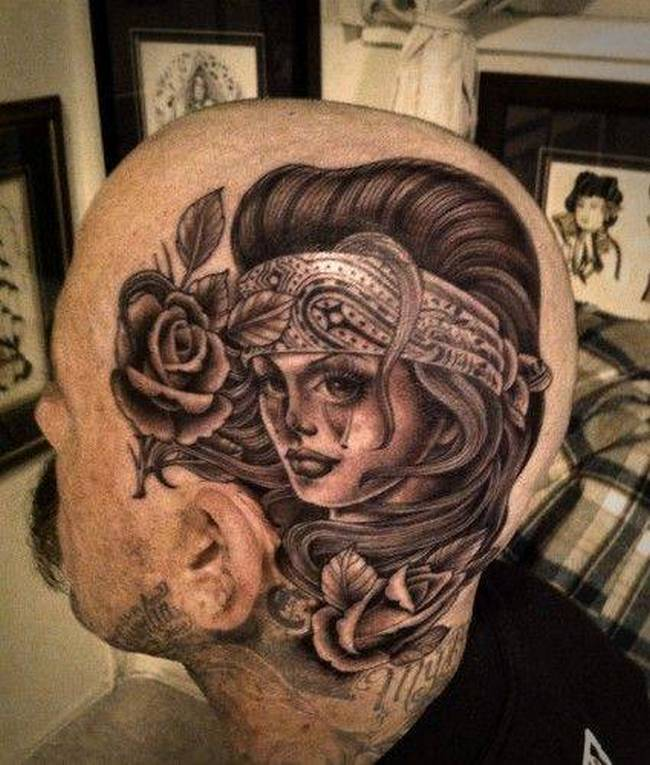Carecas Tattoo 13