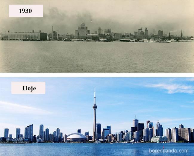 Cidades antes depois 14