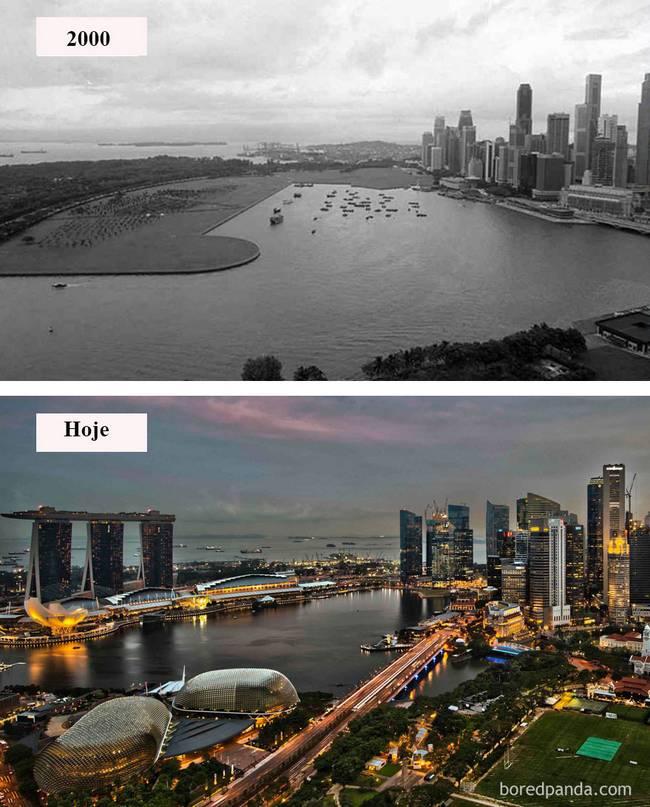 Cidades antes depois 5