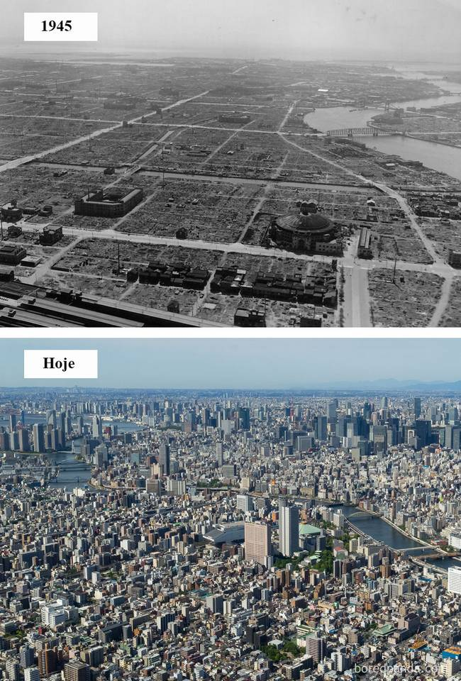 Cidades antes depois 6