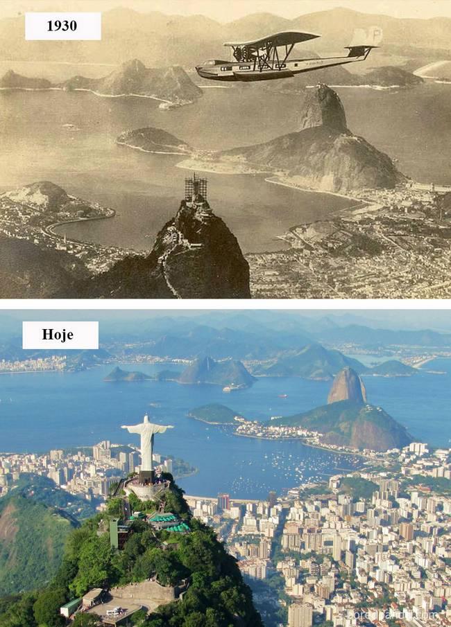 Cidades antes depois 7